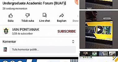 Konferensi Internasional Borneo Undergraduate Academic Forum (BUAF) ke-5