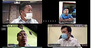 Penutupan Kukerta/KKN DR di LP2M IAIN Kerinci