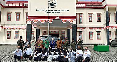 Pembukaan Pradiklatmmil Menwa IAIN Kerinci th.2021
