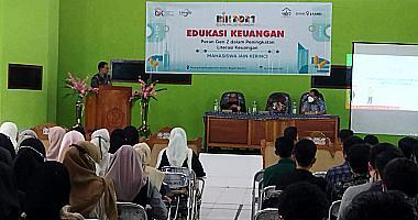 Seminar Edukasi Keuangan Mahasiswa FEBI-OJK 2021